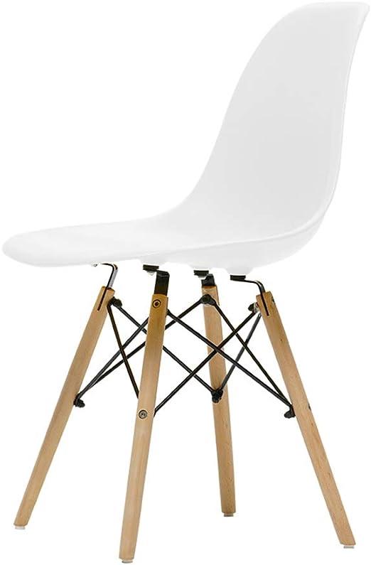 QYJ-Dining chair Silla De Hogar De Cocina De Plástico PP Con Cojín ...