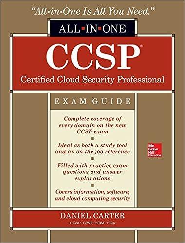 Ccsp certified cloud security professional all in one exam guide 1 ccsp certified cloud security professional all in one exam guide 1 daniel carter ebook amazon fandeluxe Images