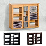 Generic NV_1008004420-QYUS484420 Shelf DVD Wall Mou Floating Storage Triple Wall Triple Wall Mounted ing Stor Rack Organizer rganizer CD Media Rack Organizer