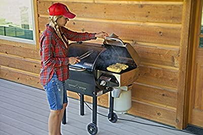 Camp Chef SmokePro DLX 24 Pellet Grill (PG24) with Included Sear Box (PGSEAR)