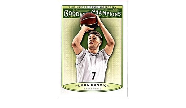 MultiSport MultiSport 2019 Upper Deck Goodwin Champions #30 Luka Doncic #30 Basketball NM Near Mint RC Rookie