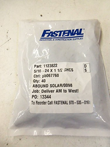 Lot Of 40 Fastenal 1123822  New In Factory Bag