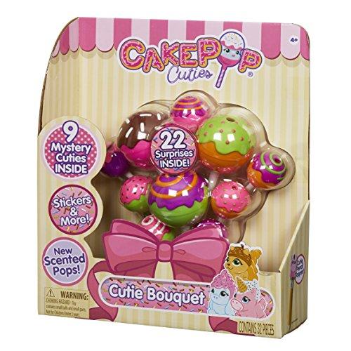 Bouquet Cake - Basic Fun CakePop Cuties - CakePop Bouquet - Squishies - Includes 25 Surprises!