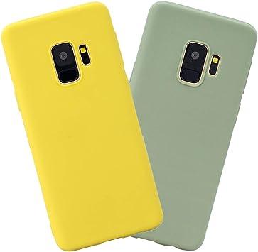 EuCase 2X Funda para Samsung S9 Plus Silicona Carcasa Samsung S9 ...
