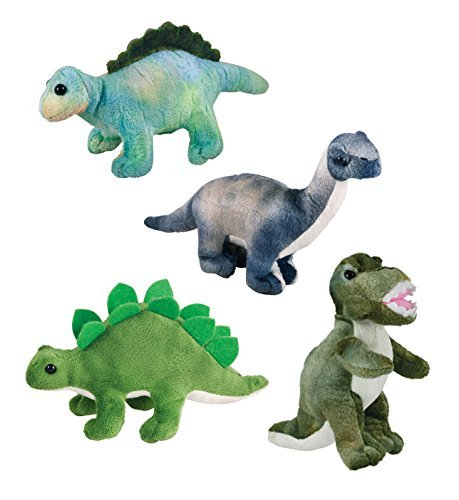 Cuddle Zoo, Baby Dinos - 4-Piece Set