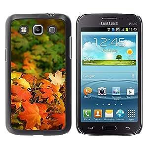 """Pulsar Snap-on Series Teléfono Carcasa Funda Case Caso para Samsung Galaxy Win I8550 , Otoño Sun de oro de Brown de arce del otoño"""""""