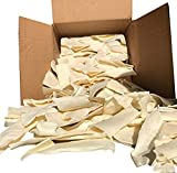 Natural Rawhide Chips for Dogs Bulk Rawhide Dog Treats (1LB)