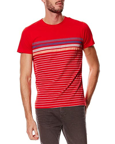 Pepe Jeans - Men's T-Shirts William - red, XL (Pepe Jeans Brillen)