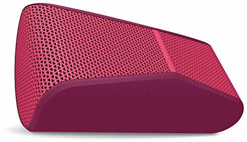 Logitech X300 Mobile Wireless Stereo Speaker, Red