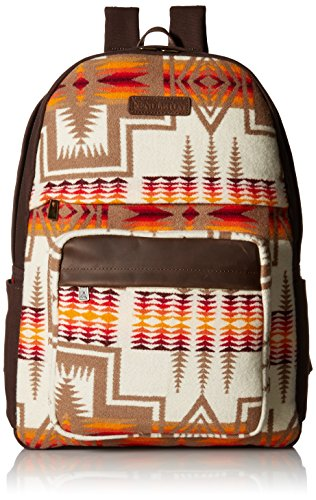 Pendleton Men's Canvas Backpack, Harding Ivory