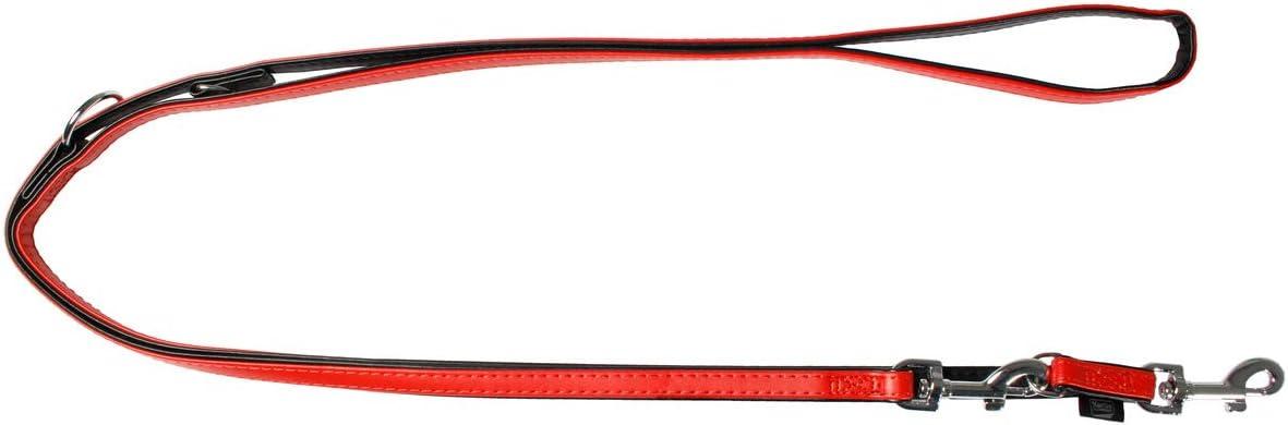200 cm 11 mm Karlie Art Leather Plus F/ührleine Paris schwarz