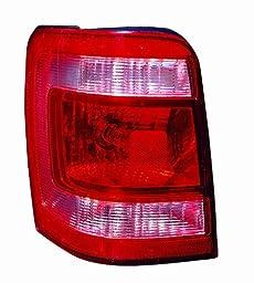 Depo 330-1938L-UF Ford Escape/Escape Driver Side Tail Light Unit, NSF Certified