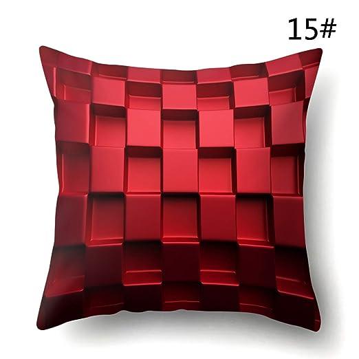 peng sheng Funda de cojín Decorativa, Rosa, estéreo, 3D ...