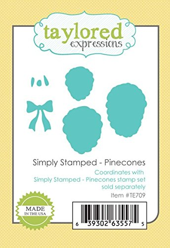 Taylored Expressions Dies ~ Simply Stamped Pinecones