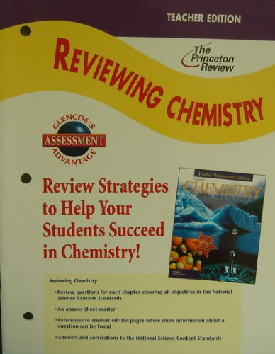 Chemistry: Matter and Change, Reviewing Chemistry Teacher's Edition