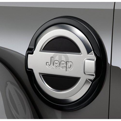 2018 Jeep Wrangler Cast Aluminum Fuel Door