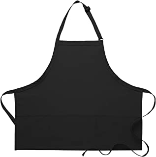 product image for DayStar Apparel 200PD Three Pocket Bib Apron w/Pencil Divide