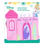 Disney Baby Disney Princess On the Go Activity Teether Storybook, 6.5