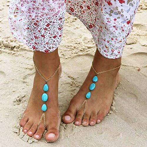Edary Boho Beach Turquoise...