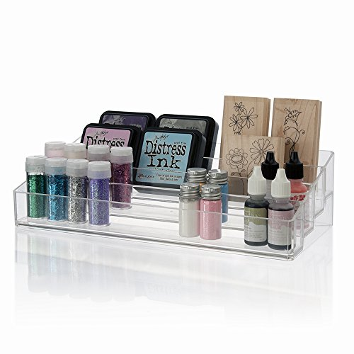 Rubber Stamp Storage - STORi Clear Plastic Multi-Level Craft Organizer