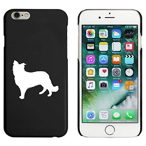 Schwarz 'Schäferhund Silhouette' Hülle für iPhone 6 u. 6s (MC00049841)
