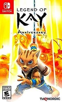 Resultado de imagem para Legend of Kay Anniversary  switch