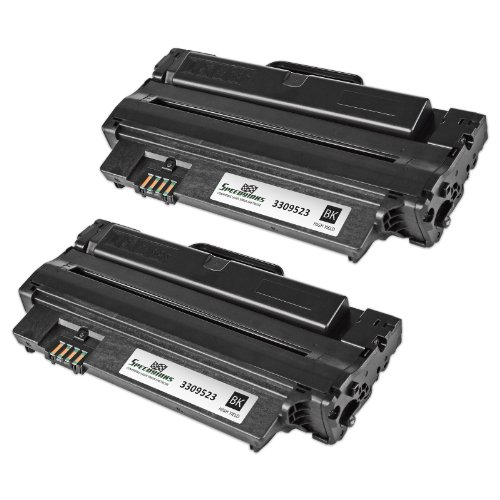 Speedy Inks - Compatible 2-Pack Dell 330-9523 7H53W High Yield Black Toner Cartridge for your Dell 1130, 1130n, 1133, and 1135n Laser Printer