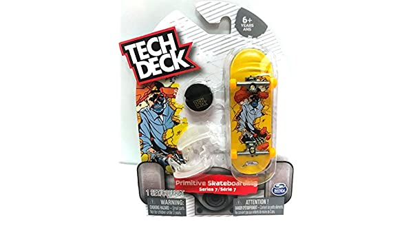 Tech Deck Primitive Skateboarding series 7 Shane O/'Neill Fingerboard Skateboard