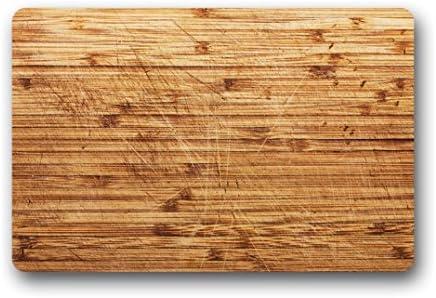 Doubee diseño Retro Madera Wood Felpudo Premium Suciedad Alfombrilla Felpudo Jardín a casa All Abierto Interior 46 cm x 76 cm: Amazon.es: Hogar