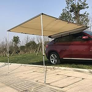 Amazon Com Outsunny Car Awning Portable Folding