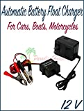 #2: Paradise Harbor 12V Automatic Battery Float Charger Auto Battery Charger Trickle Car Boat Motorcycle Auto Charger
