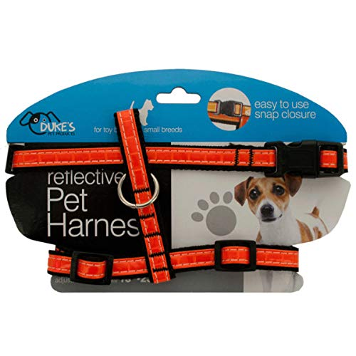 Small Reflective Dog Harness - 4/Pack (10 Pack)