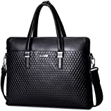 """Sammons Top Quality Genuine Leather Laptop Briefcase/tote/shoulder Bag """"Medici""""series Laptops and Tablets Briefcase"""