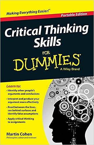 critical thinking assumptions