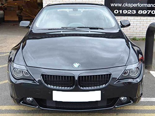 BMW E63 E64 6 Series Coupe Cabriolet Kidney Grill Grille Grills Gloss Black - Auto Body Coupe