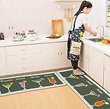Sabull Mat Doormat Non-Slip Kitchen Carpet/Bath Mat Home Entrance Floor Mat Hallway Area Rugs Kitchen Non-Slip Mat