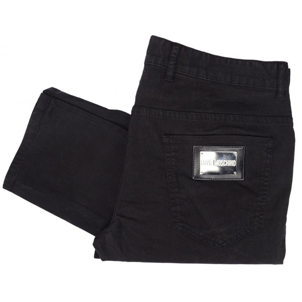MOSCHINO Love Black Jeans W30 - L34 Black