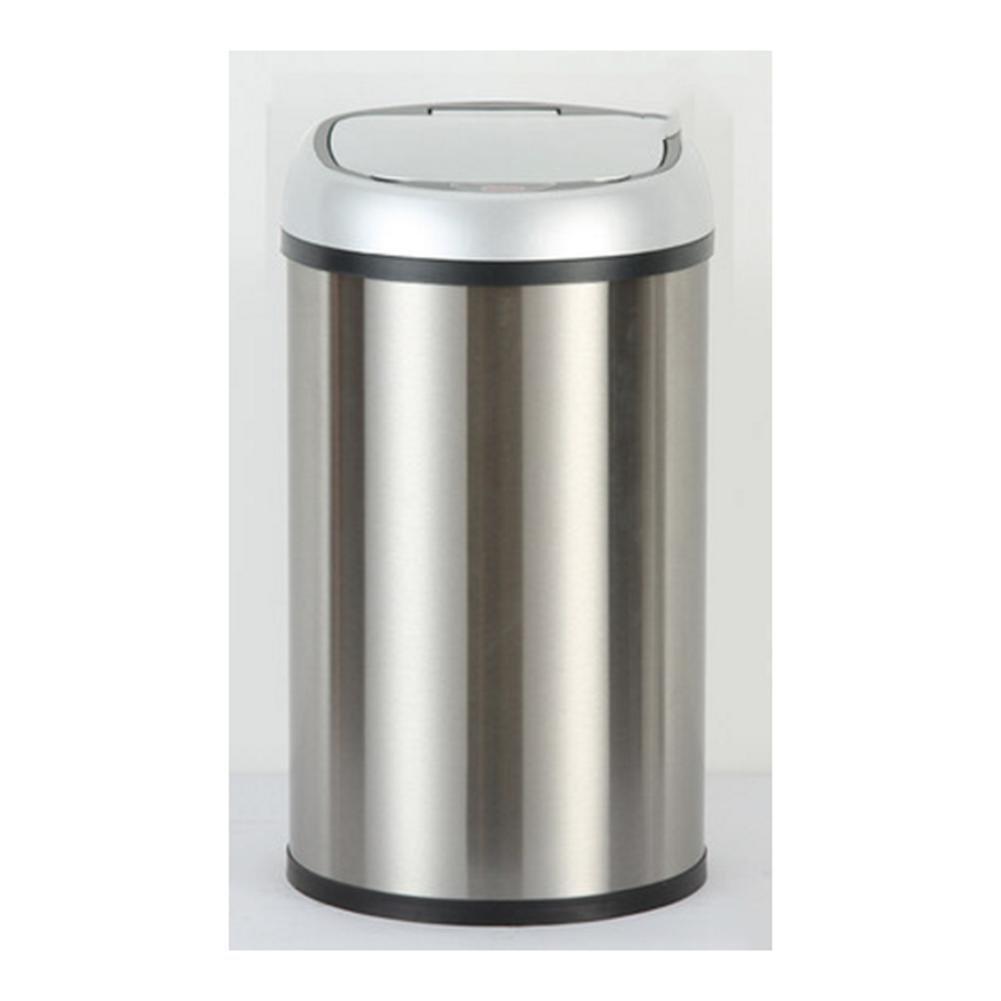 amazon Poubelle Sensor Automatique Inox Capacité 8L,12L , stainless steel silver cap [rechargeable dual 12l] pas cher prix