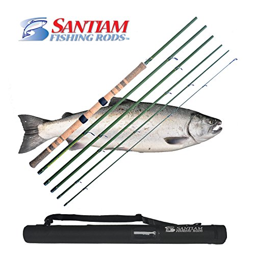Santiam Fishing Rods 6 Piece 13'6'' 8-12lb Centerpin Travel Float Rod