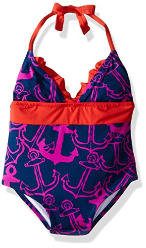 Hatley Girls Anchors Halter Swimsuit product image