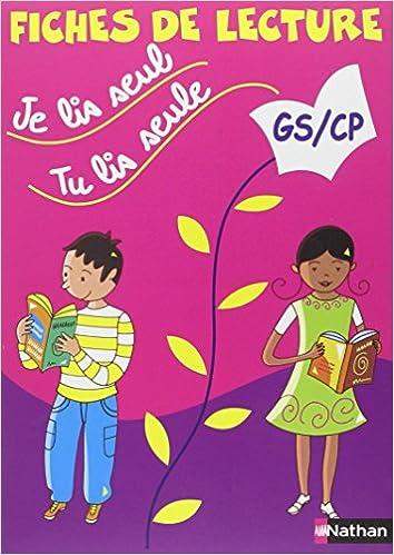Livres allemands téléchargement gratuit pdf Je lis seul, tu lis seule... : Fiches de lecture GS/CP PDF