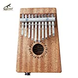Gecko 10 Key Electric Kalimba African Thumb Piano Finger Percussion Keyboard