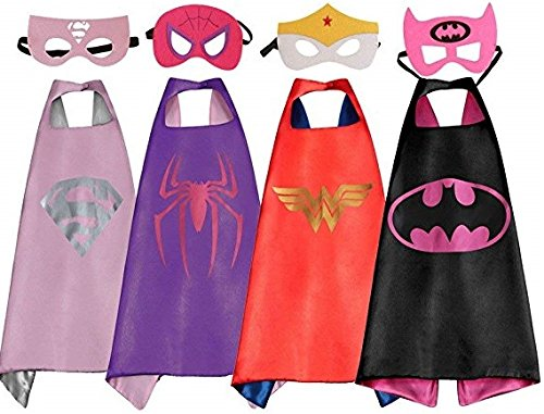 LansKids Comics Cartoon Heros Dress Up Costumes 4