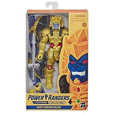 Power Rangers Saban's Lighting Collection Goldar: Toys & Games