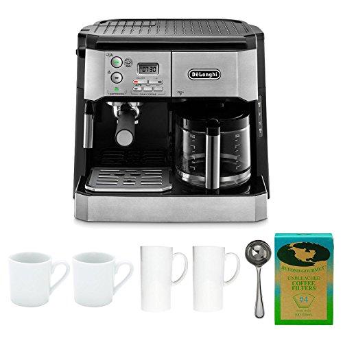 DeLonghi BCO430 Combination Pump Espresso & 10-cup Coffee Machine with Coffee Maker Bundle
