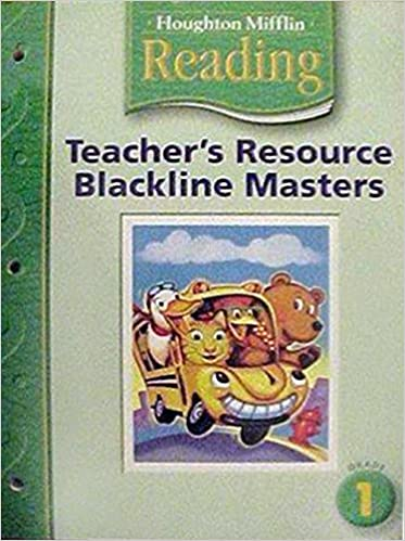Houghton Mifflin Reading Teacher Resource
