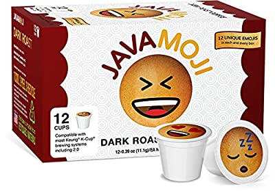 JavaMoji, Emoji Pods, Dark Roast Coffee, 100% Recyclable