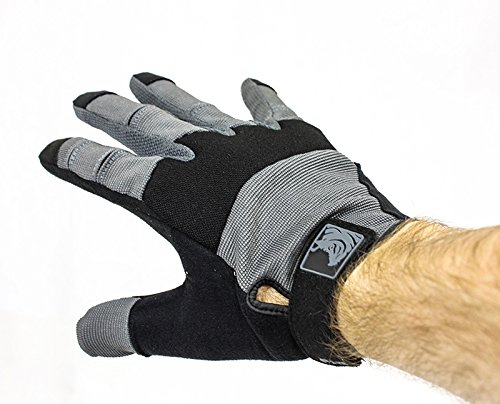 PIG Full Dexterity Tactical (FDT) Alpha Gloves - Carbon Grey - 2X-Large … by PIG (Image #1)