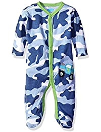 Baby Boys' Footed Coverall with Applique