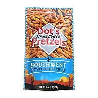 Dot's Homestyle Pretzels 1 lb. Bag (1 Bag) 16 oz. Seasoned Pretzel Snack Sticks